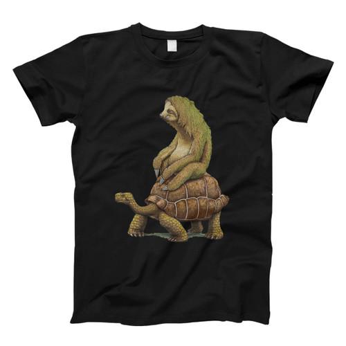 Zootopia Tortoise Sloth Design Men T Shirt