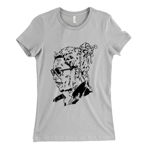 These are Young Thug Art Poster Women T Shirt that are cute tied to the side or paired with a cardigan or jacket for a more styled look. So comfy and classic, they are sure to make your vacation extra magical.