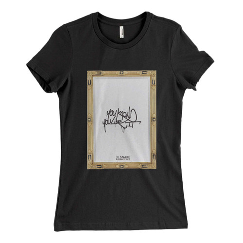 These are You Know You Like It Dj Snake Alunageorge Original Cover Women T Shirt that are cute tied to the side or paired with a cardigan or jacket for a more styled look. So comfy and classic, they are sure to make your vacation extra magical.