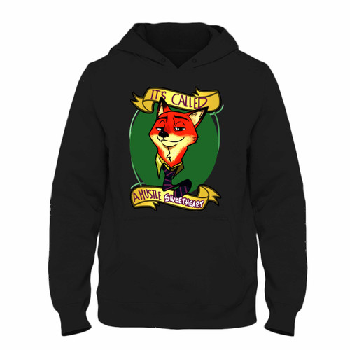 Was created with comfort in mind, this Zootopia Nick Wilde A Hustle Sweetheart Hoodie lighter weight is perfect for any activity. Teams and groups love this hoodie for its affordable price and variety of colors.