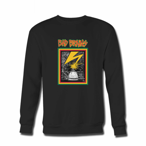Your Bad Brains Crewneck Sweatshirt just got an update. This super comfortable and lighter weight crewneck will become your favorite go-to sweatshirt. The cozy spandex cuffs and waistband make this pill-resistant sweatshirt a fan favorite.And your group will look and feel their best in this premium ringspun cotton crew.