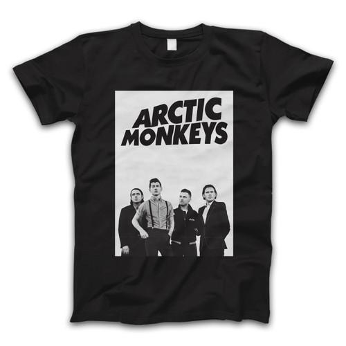 Arctic Monkeys Group Photos Men T Shirt