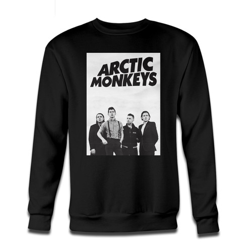 Your Arctic Monkeys Group Photos Crewneck Sweatshirt just got an update. This super comfortable and lighter weight crewneck will become your favorite go-to sweatshirt. The cozy spandex cuffs and waistband make this pill-resistant sweatshirt a fan favorite.And your group will look and feel their best in this premium ringspun cotton crew.