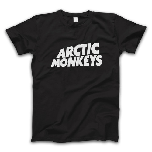 Arctic Monkeys Name Logo Men T Shirt
