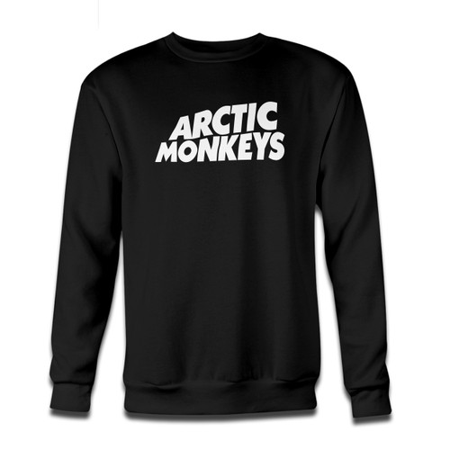 Your Arctic Monkeys Name Logo Crewneck Sweatshirt just got an update. This super comfortable and lighter weight crewneck will become your favorite go-to sweatshirt. The cozy spandex cuffs and waistband make this pill-resistant sweatshirt a fan favorite.And your group will look and feel their best in this premium ringspun cotton crew.