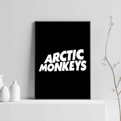 Arctic Monkeys Name Logo Poster