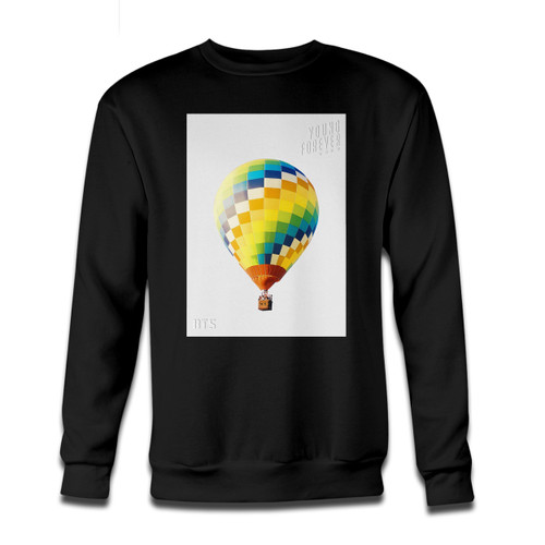 Your BTS The Most Beautiful Moment In Life Poster Crewneck Sweatshirt just got an update. This super comfortable and lighter weight crewneck will become your favorite go-to sweatshirt. The cozy spandex cuffs and waistband make this pill-resistant sweatshirt a fan favorite.And your group will look and feel their best in this premium ringspun cotton crew.