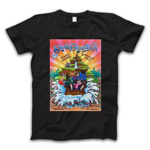 Splash Mountain Disneyland Park Vintage Poster Men T Shirt