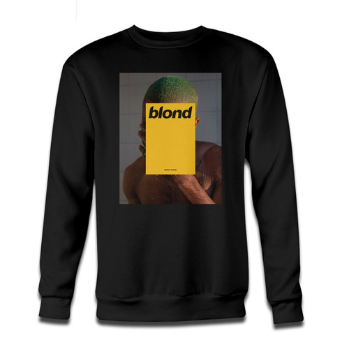 Your Frank Ocean Blonde Or Blond Crewneck Sweatshirt just got an update. This super comfortable and lighter weight crewneck will become your favorite go-to sweatshirt. The cozy spandex cuffs and waistband make this pill-resistant sweatshirt a fan favorite.And your group will look and feel their best in this premium ringspun cotton crew.