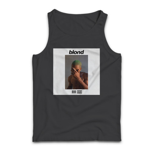 Our cotton Frank Ocean Blonde Custom Men Tank Top is perfect for those intense workouts in the gym, at practice or pickup games.