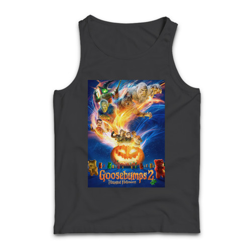 Our cotton Goosebumps 2 Haunted Halloween Cover Men Tank Top is perfect for those intense workouts in the gym, at practice or pickup games.