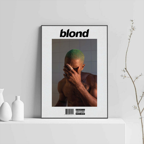 Frank Ocean Blonde Custom Poster