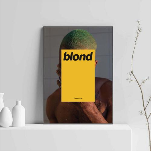 Frank Ocean Blonde Or Blond Poster