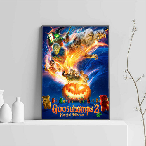 Goosebumps 2 Haunted Halloween Cover Poster