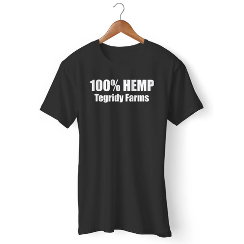 100% Hemp Tegridy Farms Men T Shirt