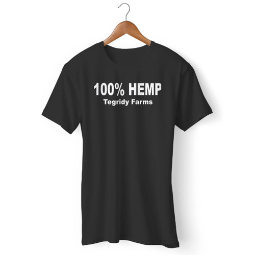 100% Percent Hemp Tegridy Farms Men T Shirt