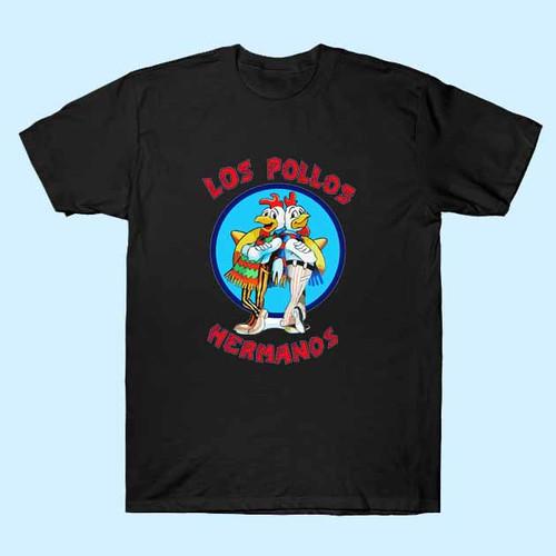 Breaking Bad Los Pollos Hermanos Heisenberg Men T Shirt