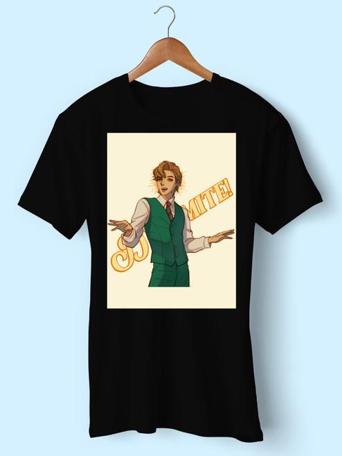Bts Dynamite V Cartoon Men T Shirt