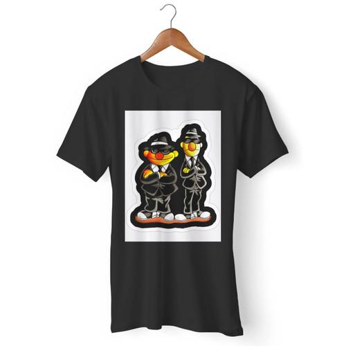 Taehyung Ernie Bert Blues Brothers Inspired Men T Shirt