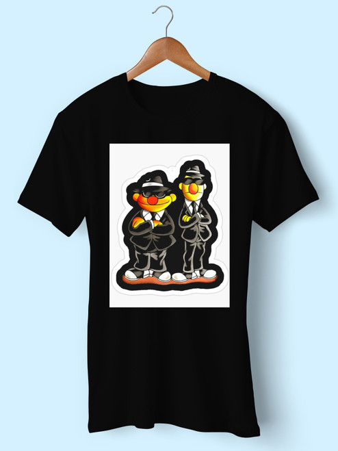 Taehyung Ernie Bert Blues Brothers Men T Shirt