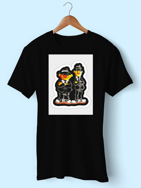 Taehyung Ernie Bert Blues Brothers Sesame Street Men T Shirt
