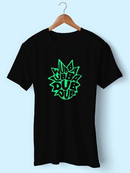 Wubba Lubba Dub Dub Rick Men T Shirt