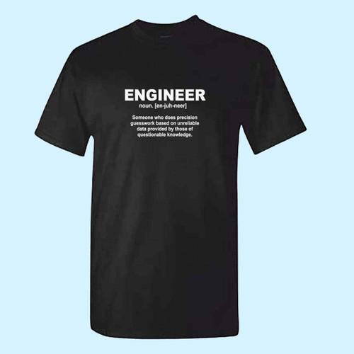 Engineer Noun Technician Engineering Best Men T Shirt