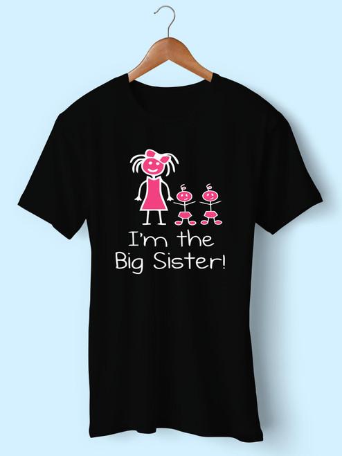 Twins Big Sister Best Men T Shirt
