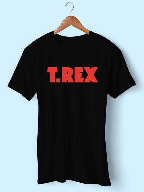 T Rex Logo Best Men T Shirt