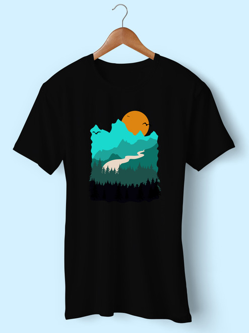 Vintage Hiking Camping Best Men T Shirt