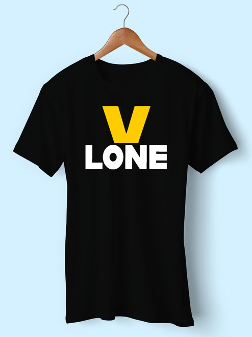 V Lone Classic Best Men T Shirt