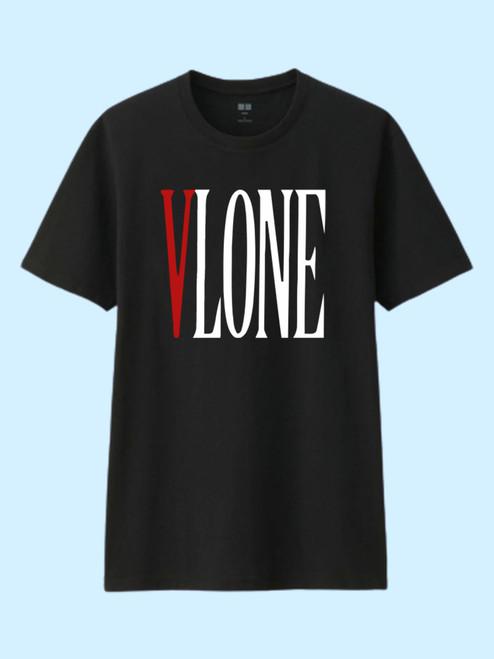 V Lone Logo Best Men T Shirt