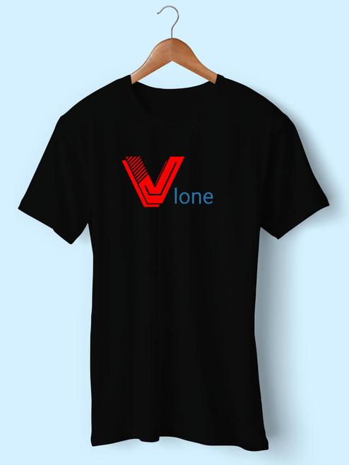 V Lone Red Classic Best Men T Shirt