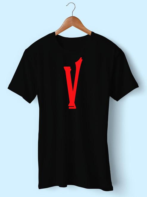 V Lone V Best Men T Shirt