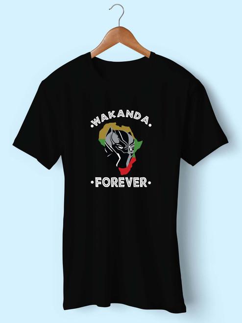 Wakanda Forever Black Panther Best Men T Shirt