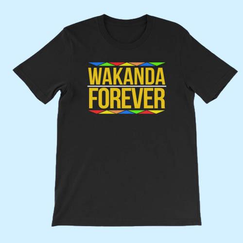Wakanda Forever Inspired Cover Best Men T Shirt
