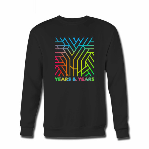 Your Years And Years Communion Colorize With Title Crewneck Sweatshirt just got an update. This super comfortable and lighter weight crewneck will become your favorite go-to sweatshirt. The cozy spandex cuffs and waistband make this pill-resistant sweatshirt a fan favorite.And your group will look and feel their best in this premium ringspun cotton crew.