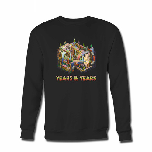 Your Years And Years Original Crewneck Sweatshirt just got an update. This super comfortable and lighter weight crewneck will become your favorite go-to sweatshirt. The cozy spandex cuffs and waistband make this pill-resistant sweatshirt a fan favorite.And your group will look and feel their best in this premium ringspun cotton crew.