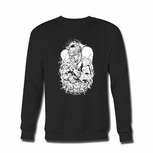 Your Yeezy Angel Crewneck Sweatshirt just got an update. This super comfortable and lighter weight crewneck will become your favorite go-to sweatshirt. The cozy spandex cuffs and waistband make this pill-resistant sweatshirt a fan favorite.And your group will look and feel their best in this premium ringspun cotton crew.