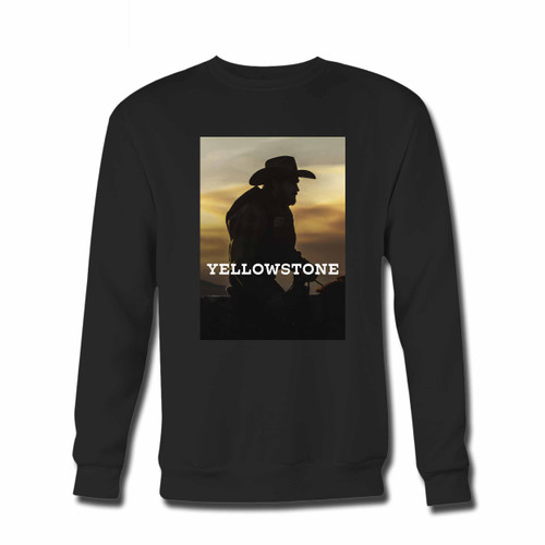 Your Yellowstone Tv Show Cover Crewneck Sweatshirt just got an update. This super comfortable and lighter weight crewneck will become your favorite go-to sweatshirt. The cozy spandex cuffs and waistband make this pill-resistant sweatshirt a fan favorite.And your group will look and feel their best in this premium ringspun cotton crew.
