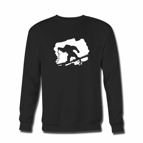 Your Yeti Beware The Legend Crewneck Sweatshirt just got an update. This super comfortable and lighter weight crewneck will become your favorite go-to sweatshirt. The cozy spandex cuffs and waistband make this pill-resistant sweatshirt a fan favorite.And your group will look and feel their best in this premium ringspun cotton crew.