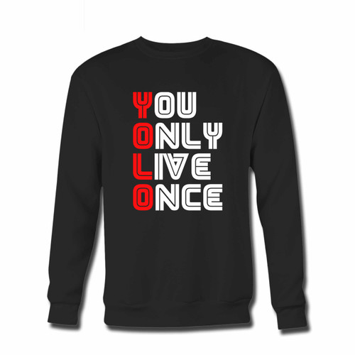 Your Yolo With Mr Robot Font Type Crewneck Sweatshirt just got an update. This super comfortable and lighter weight crewneck will become your favorite go-to sweatshirt. The cozy spandex cuffs and waistband make this pill-resistant sweatshirt a fan favorite.And your group will look and feel their best in this premium ringspun cotton crew.