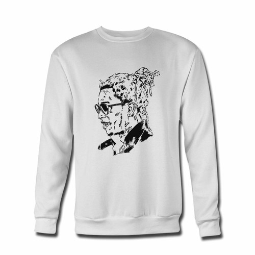 Your Young Thug Art Poster Crewneck Sweatshirt just got an update. This super comfortable and lighter weight crewneck will become your favorite go-to sweatshirt. The cozy spandex cuffs and waistband make this pill-resistant sweatshirt a fan favorite.And your group will look and feel their best in this premium ringspun cotton crew.