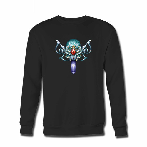 Your Yugioh Monster Reborn Original Cover Crewneck Sweatshirt just got an update. This super comfortable and lighter weight crewneck will become your favorite go-to sweatshirt. The cozy spandex cuffs and waistband make this pill-resistant sweatshirt a fan favorite.And your group will look and feel their best in this premium ringspun cotton crew.