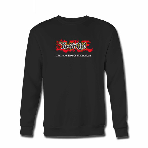 Your Yugioh The Darkside Of Dimensions Cover Crewneck Sweatshirt just got an update. This super comfortable and lighter weight crewneck will become your favorite go-to sweatshirt. The cozy spandex cuffs and waistband make this pill-resistant sweatshirt a fan favorite.And your group will look and feel their best in this premium ringspun cotton crew.