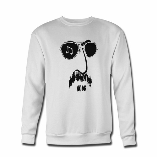 Your Zappa Face Crewneck Sweatshirt just got an update. This super comfortable and lighter weight crewneck will become your favorite go-to sweatshirt. The cozy spandex cuffs and waistband make this pill-resistant sweatshirt a fan favorite.And your group will look and feel their best in this premium ringspun cotton crew.