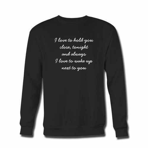 Your Zayn Pillowtalk Quote Crewneck Sweatshirt just got an update. This super comfortable and lighter weight crewneck will become your favorite go-to sweatshirt. The cozy spandex cuffs and waistband make this pill-resistant sweatshirt a fan favorite.And your group will look and feel their best in this premium ringspun cotton crew.