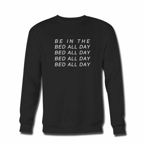 Your Zayn Pillowtalk Quote Bed All Day Crewneck Sweatshirt just got an update. This super comfortable and lighter weight crewneck will become your favorite go-to sweatshirt. The cozy spandex cuffs and waistband make this pill-resistant sweatshirt a fan favorite.And your group will look and feel their best in this premium ringspun cotton crew.