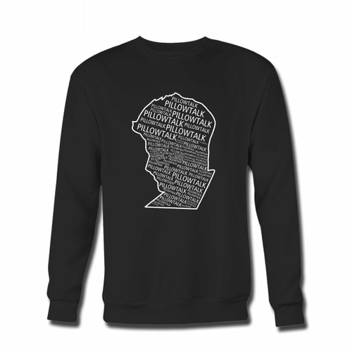 Your Zayn Pillowtalk Title Make Face Crewneck Sweatshirt just got an update. This super comfortable and lighter weight crewneck will become your favorite go-to sweatshirt. The cozy spandex cuffs and waistband make this pill-resistant sweatshirt a fan favorite.And your group will look and feel their best in this premium ringspun cotton crew.