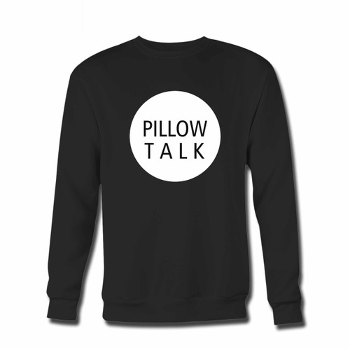 Your Zayn Pillowtalk Title With Rounded Crewneck Sweatshirt just got an update. This super comfortable and lighter weight crewneck will become your favorite go-to sweatshirt. The cozy spandex cuffs and waistband make this pill-resistant sweatshirt a fan favorite.And your group will look and feel their best in this premium ringspun cotton crew.